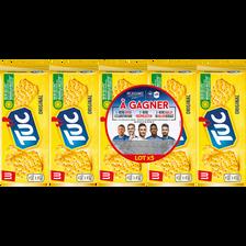 LU Tuc Original Salés Lu, 5 Paquets De 100g