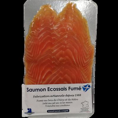 Saumon fumé d'Ecosse 6 tranches, 240g