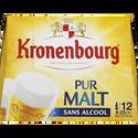 Kronenbourg Bière Blonde Sans Alcool Pur Malt , 12x25cl