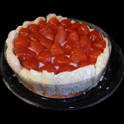 Charlotte aux fraises, 6 parts, 600g