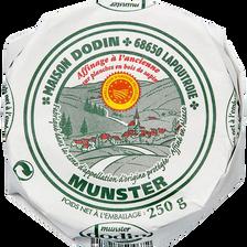 Petit munster au lait pasteurisé DODIN,  27%MG, 250g