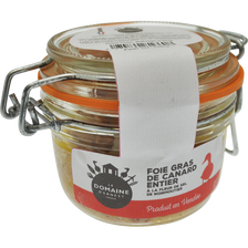 Foie gras de canard entier LE DOMAINE D'ERNEST, 130g