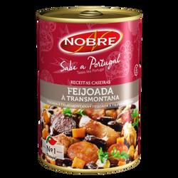 Feijoada lata ragout haricots rouges NOBRE, 420g
