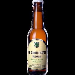 Bière blonde CHOULETTE, 7,5°, bouteille de 33cl