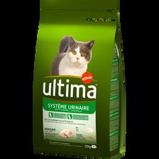 Ultima Croquettes Pour Chat Protection Du Système Urinaire Au Poulet Et Riz , 1,5kg