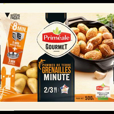 Pomme de terre grenaille Jazzy, de consommation à chair ferme, 17/28MM, cat.1, France, sht micro-onde 500g