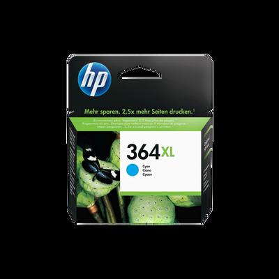Cartouche d'encre HP pour imprimante, CB323EE cyan n°364XL, sous blister