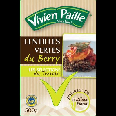 Lentilles vertes du Berry VIVIEN PAILLE, 500g