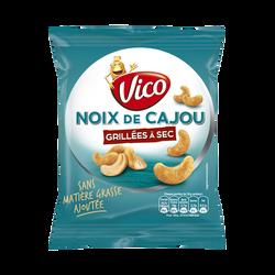 Noix de cajou au sel de guérande VICO, sachet de 100g