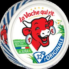 Fromage fondu pasteurisé LA VACHE QUI RIT, 18,5% de MG, 535g