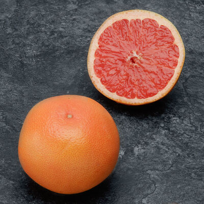 Pomelos rouge, Star Ruby, calibre 60, Afrique du Sud, pièce