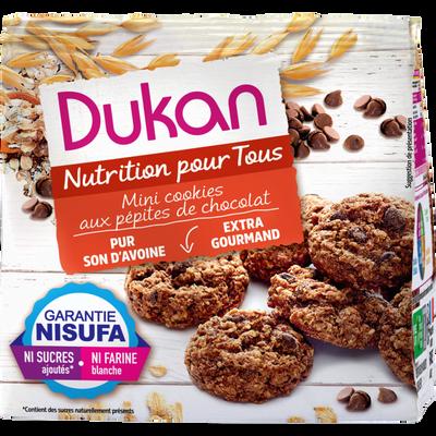 Mini cookies son d'avoine aux pépites chocolat DUKAN, 100g
