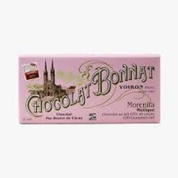 CHOCOLAT AU LAIT GRAND CRU MORENITA MEXIQUE 100G - BONNAT CHOCOLATIER