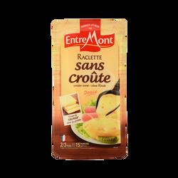 Raclette pasteurisé sans croûte ENTREMONT, 28% de MG, 350g