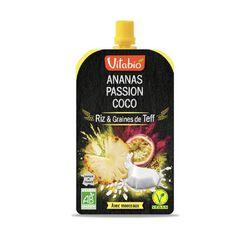 Gourde Ananas-Passion-Coco Bio Vitabio 120g
