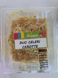 Duo de céleri et carotte, SOLEANE, barquette de 230g