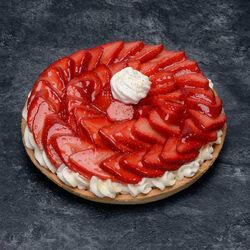 Tarte fraises chantilly, 6 parts, 890g