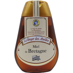 Squeezer miel de Bretagne LE VERGER DES ABEILLES, 250g