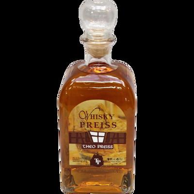 Whisky Alsacien THEO PREISS, 40°, bouteille de 70cl