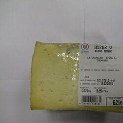 """Fromage au lait thermisé """"Le Chapelou"""" 32%MG,"""