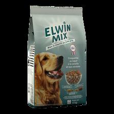 Croquettes chien adulte boeuf/volaille/céréales, 4kg