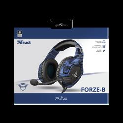 Casque de jeu TRUST Forze-b pour PS4 avec micro repliable et arceau réglable