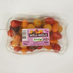 Méli-mélo de tomates, SAVEOL, barquette de 350g