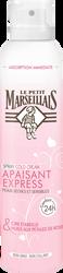 Spray hydratant express peaux sèches cold cream cire d'abeille et huile de pétales de rose LE PETIT MARSEILLAIS 200ml