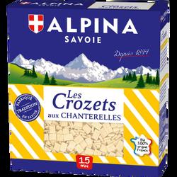 Crozets aux chanterelles ALPINA SAVOIE, 400g