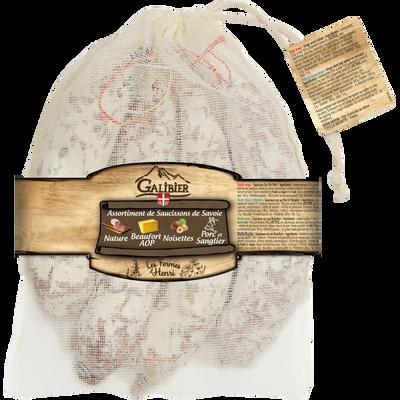 Saucissons 4x145g LE GALIBIER sachet coton
