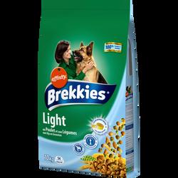 Croquettes pour chien Light BREKKIES Excel, 10kg