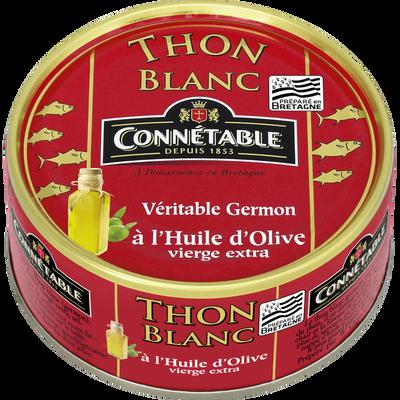 Thon blanc à l'huile d'olive CONNETABLE, 80g