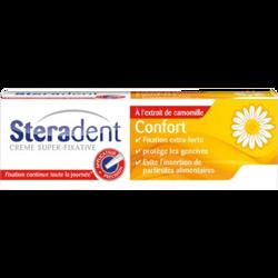 Crème fixative confort camomille STERADENT, tube de 40g