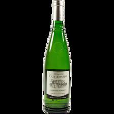 Vin blanc Picpoul de Pinet AOP Domaine Guillemarine, bouteille de 75cl
