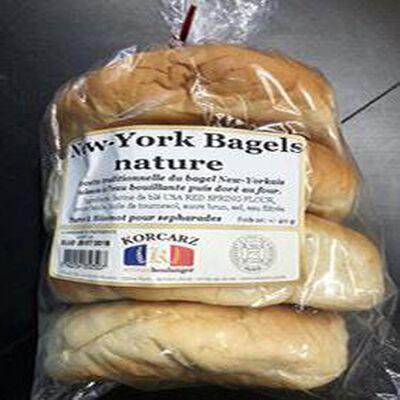 NEW-YORK BAGELS NATURE 400G