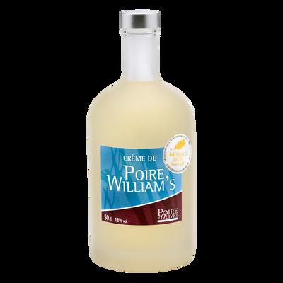 Crême de poire william's POIRE D'OLIVET, 18°, bouteille de 50cl