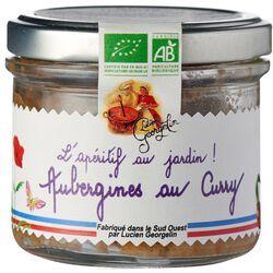 Tartinable aubergines bio au curry LUCIEN GEORGELIN