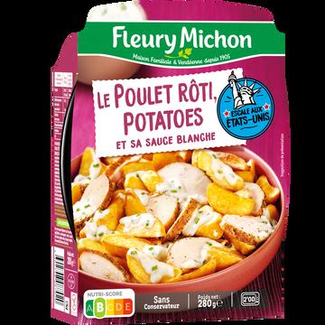 Fleury Michon Poulet Rôti Et Potatoes Sauce Blanche Fleury Michon, 280g