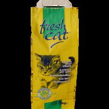 Litière chat granulés FRESHCAT, sachet de 5kg