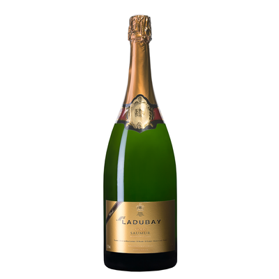 Vin blanc AOP brut Gold Saumur MLLE LADUBAY, bouteille de 1,5l