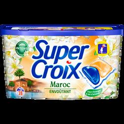 Lessive Maroc SUPER CROIX, x28 soit 560g