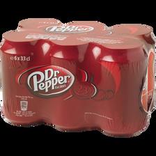 Dr. Pepper , 6 Canettes De 33cl