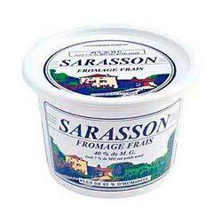 Sarasson nature LAIT DU FOREZ, 40% de MG, 1kg