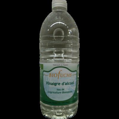 Vinaigre d'alcool incolore 8° biologique, FUCHS, bouteille de 1 litre