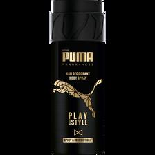 Déodorant pour homme play with style 48h PUMA, atomiseur de 150ml