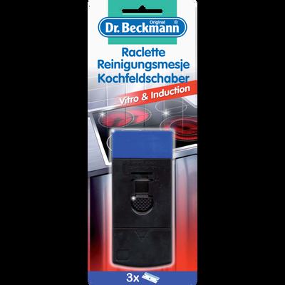 Raclette pour plaque vitro céramique et induction DR BECKMANN, x3