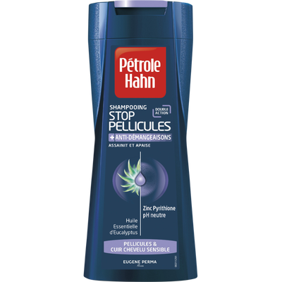 Shampooing Stop Pellicules anti-démangeaisons PETROLE HAHN,  250ml