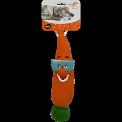 Jouet carotte vinyl, 24cm, AIME