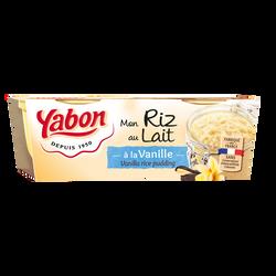 Riz au lait YABON, petit pot 120g