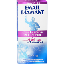 Dentifrice Cure Blancheur intense EMAIL DIAMANT, tube de 50ml